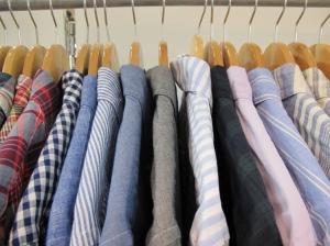 menswear shirt hanger