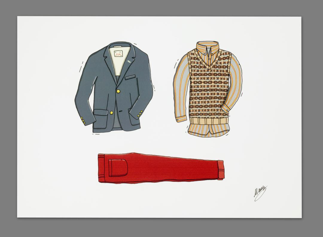 Andrew Mashanov Gant Rugger Illustrations