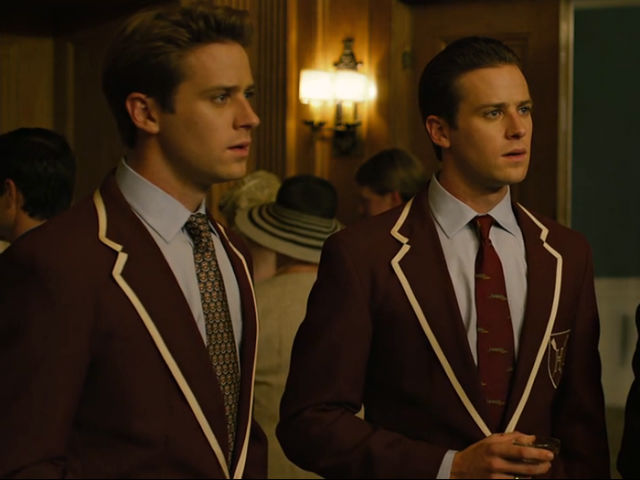 Armie Hammer, Cameron and Tyler Winklevoss