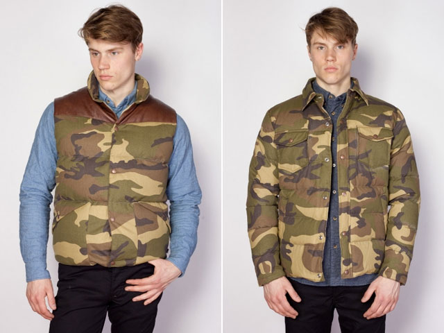 Penfield Camouflage Outerwear