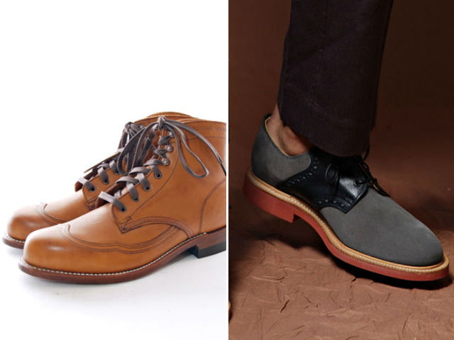 Wolverine boot, Mark McNairy Brogue, The Brooklyn Circus