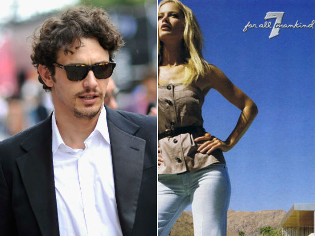 James Franco directing Seven For All Mankind