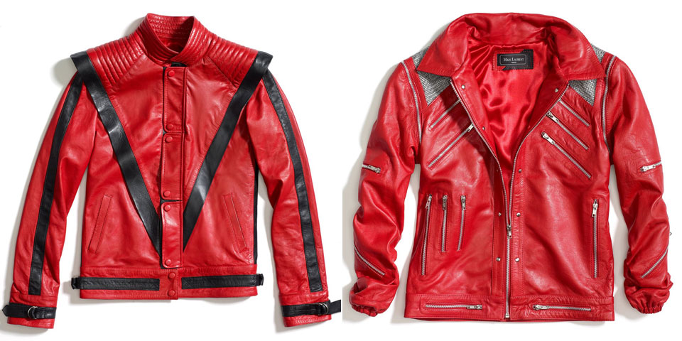 Michael Jackson 'Thriller' jacket