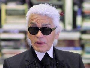 Karl Lagerfeld interview