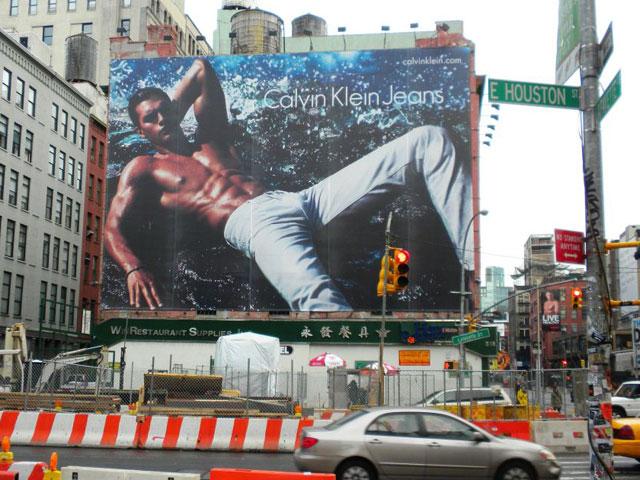 Calvin Klein Spring 2012 ad