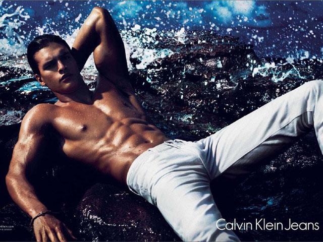 Matthew Terry Calvin Klein Jeans Spring 2012