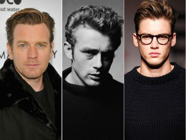 James Dean hairstyle, Ewan McGregor, Michael Bastian