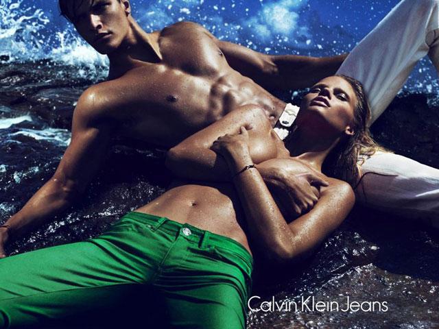 Matthew Terry Lara Stone Calvin Klein Jeans