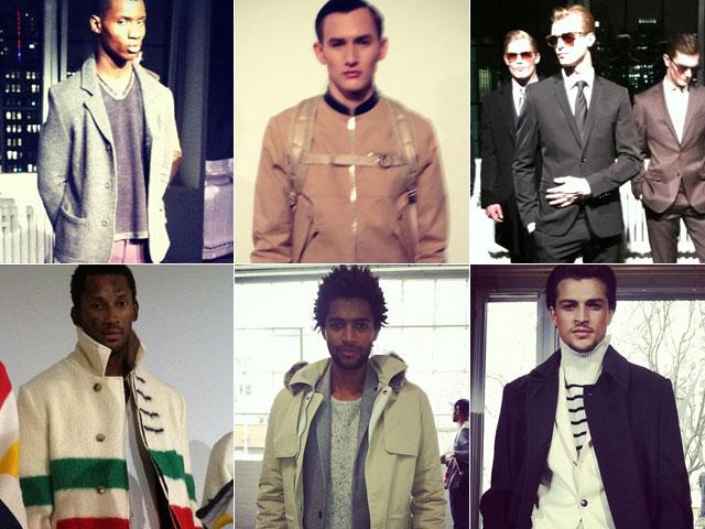New York Fashion Week 2012 menswear