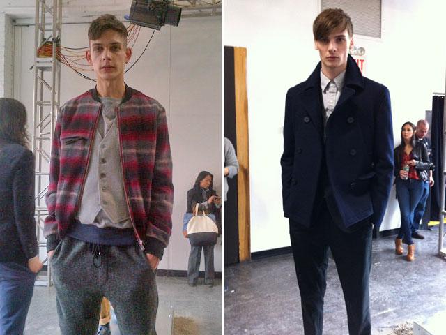 Shades of Grey, New York Fashion Week 2012