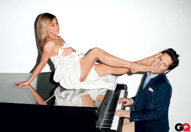 Paul Rudd, Jennifer Aniston in GQ