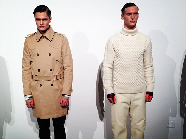 Tim Coppens New York Fashion Week 2012