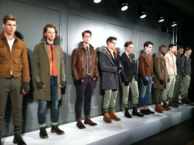 Todd Snyder New York Fashion Week 2012