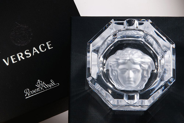 Versace ashtray
