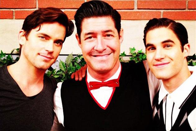 Darren Criss, Matt Bomer, Tim Davis, 'Glee'