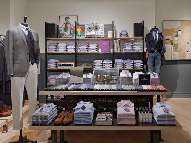 J.Crew Ludlow Suit Shop, New York