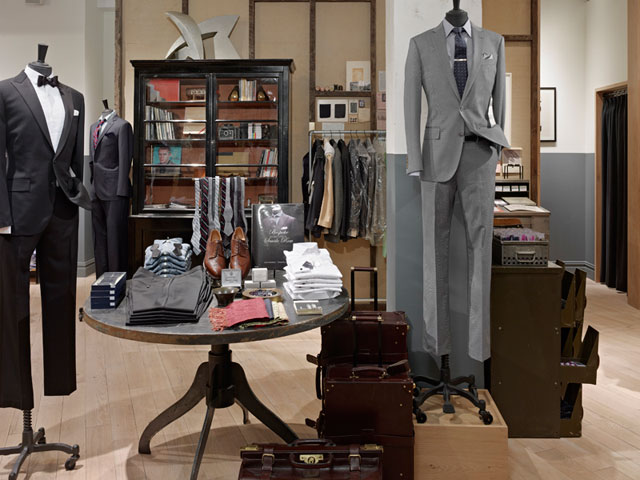 J.Crew Ludlow Suit Shop, New York