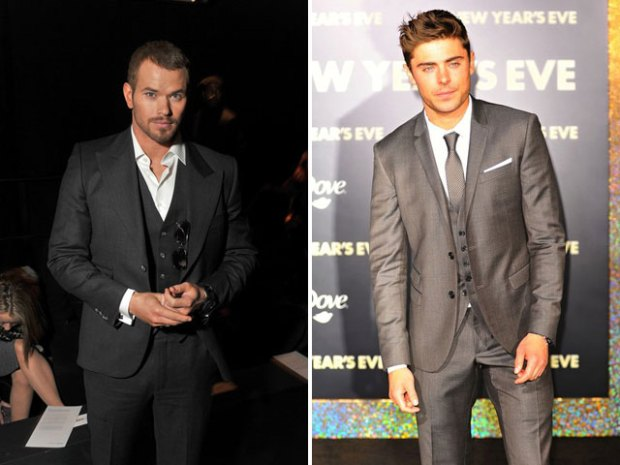 Kellan Lutz vs. Zac Efron