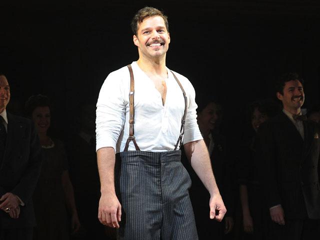 Ricky Martin in 'Evita'