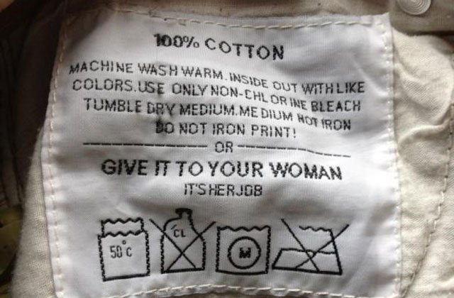 Sexist Pant Label