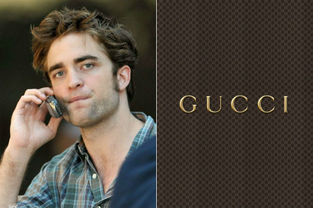 Robert Pattinson Gucci