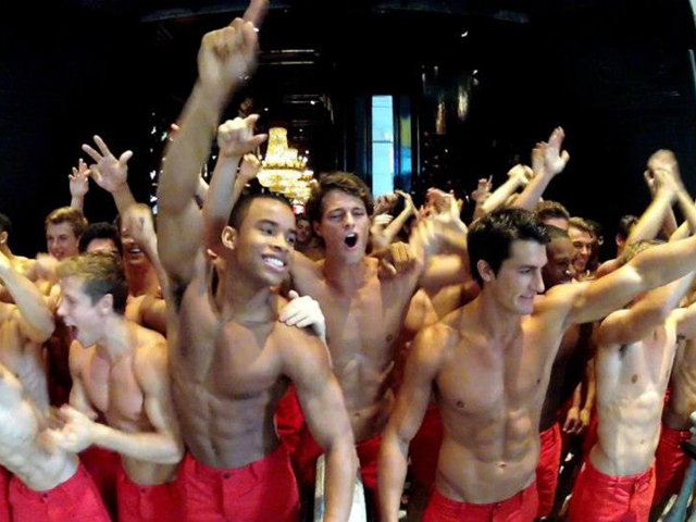 Hollister Male Models in South Korea