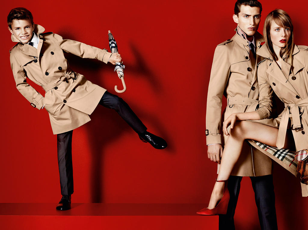 Burberry Spring/Summer 2013 Campaign